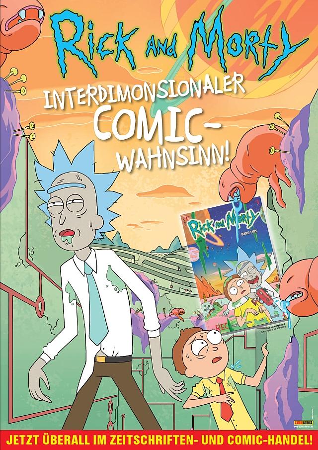rick an morty comic