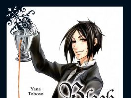 Black Butler Band 1 Cover