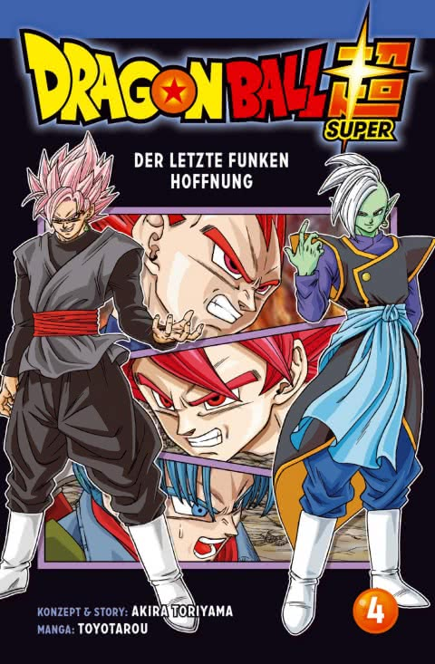 Dragon Ball Super Band 4 Cover