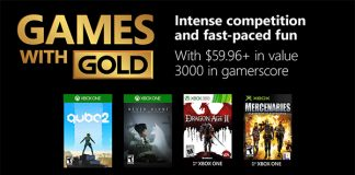 Games with Gold Dezember 2018