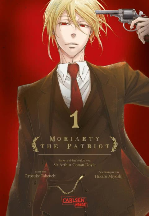 Moriarty the Patriot 1 Cover