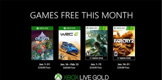 Games with Gold Januar 2019