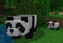 Pandas and Cats Minecraft
