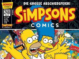 Simpsons Comics 248 Cover