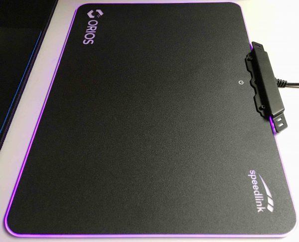 Speedlink Orios RGB Mauspad Test