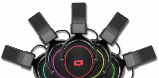 Lioncast LX 55 USB Test Logo