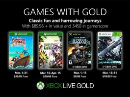 Games with Gold März