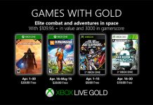 Games with Gold April 2019