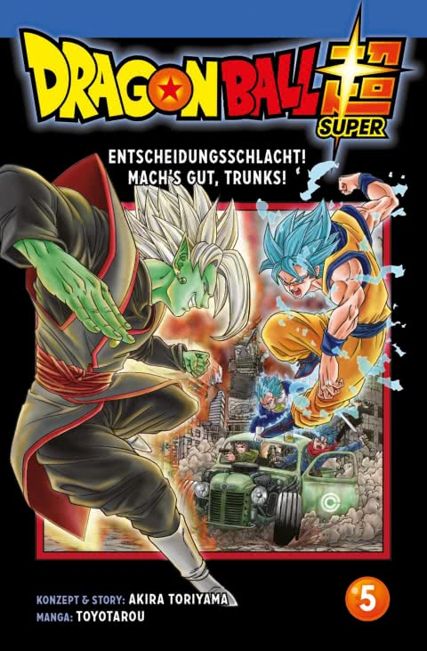 Dragon Ball Super Band 5 Cover
