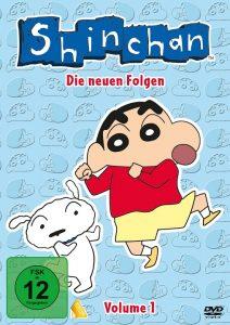 ShinChan DVD Vol. 1 Cover