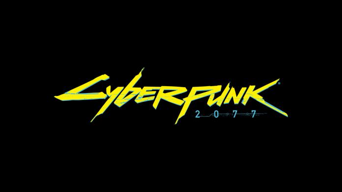 Cyberpunk 2077 Logo Black
