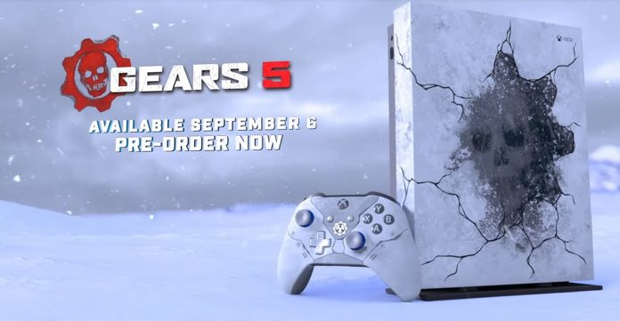 Xbox One X Gears 5 Limited Edition