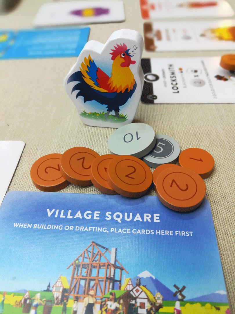 Erster-Spieler-Marker für Villagers
