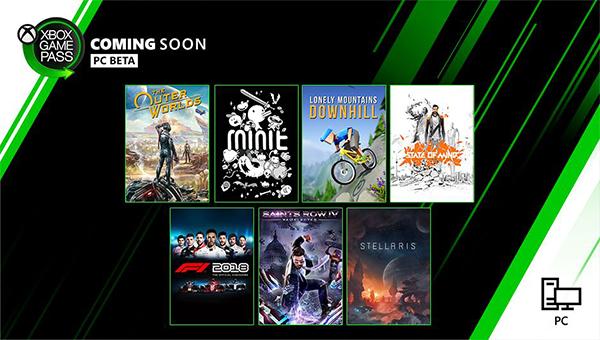 Game Pass Oktober PC