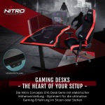 Nitro Concepts Gaming Desk