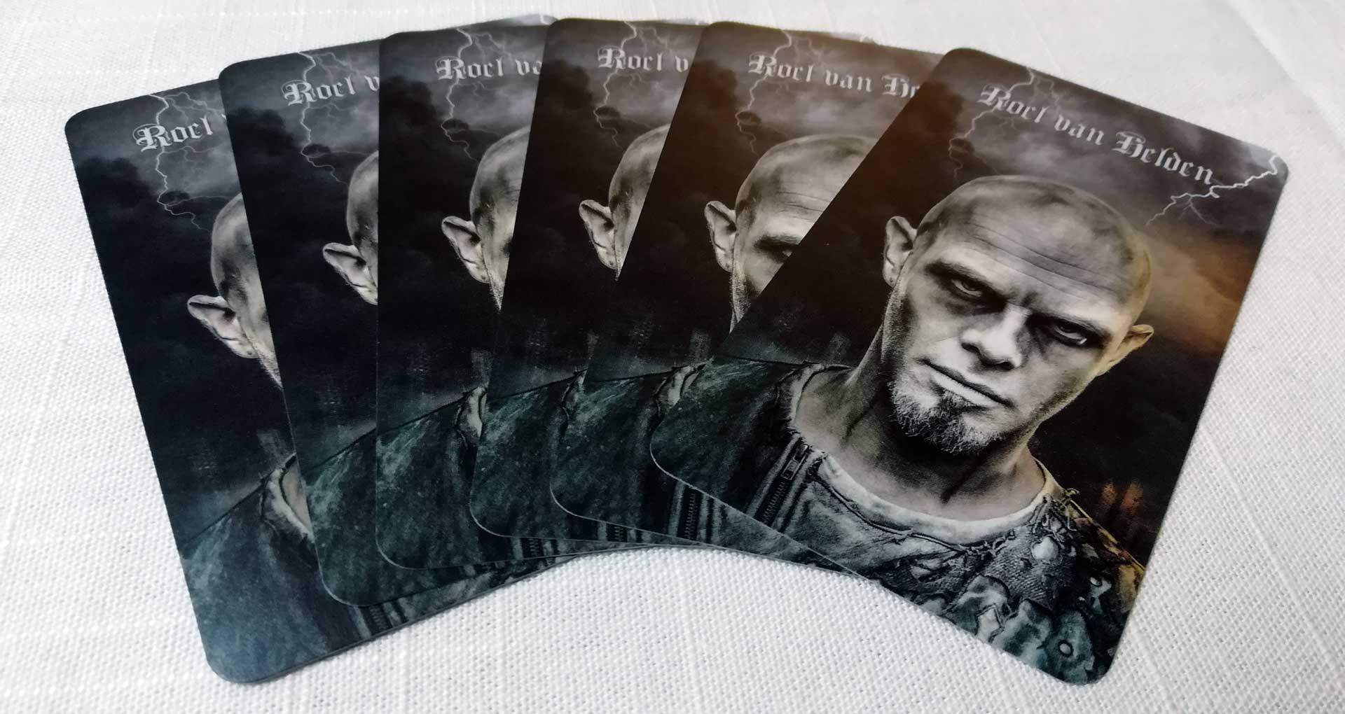 Kartenrücken der Karten von Roel van Helden