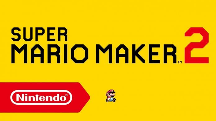 Super Mario Maker 2 Header