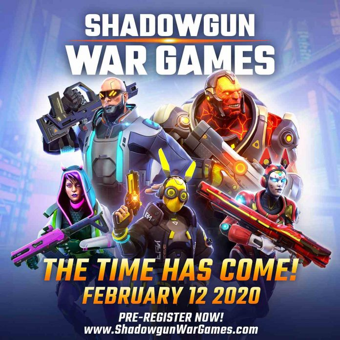 Shadowgun War Games Keyart