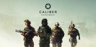 Caliber Game Header