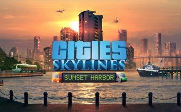 City Skylines_Sunset Harbor_Key Art