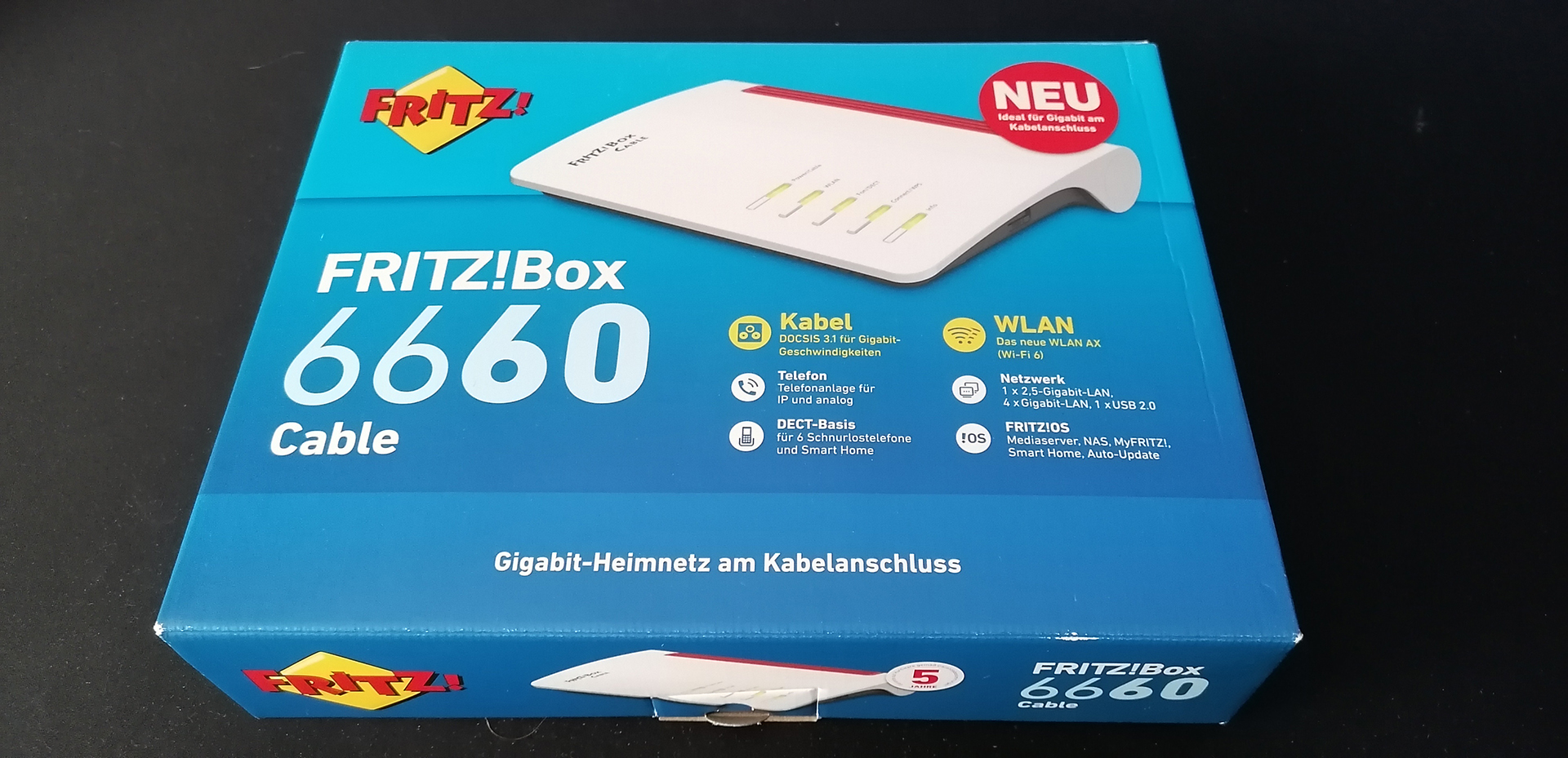 FritzBOX 200 Cable – Test / Review   game20gether