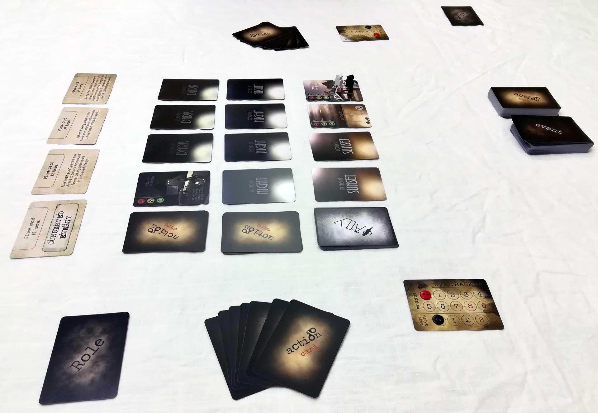 Mantis Falls: Spielbeginn