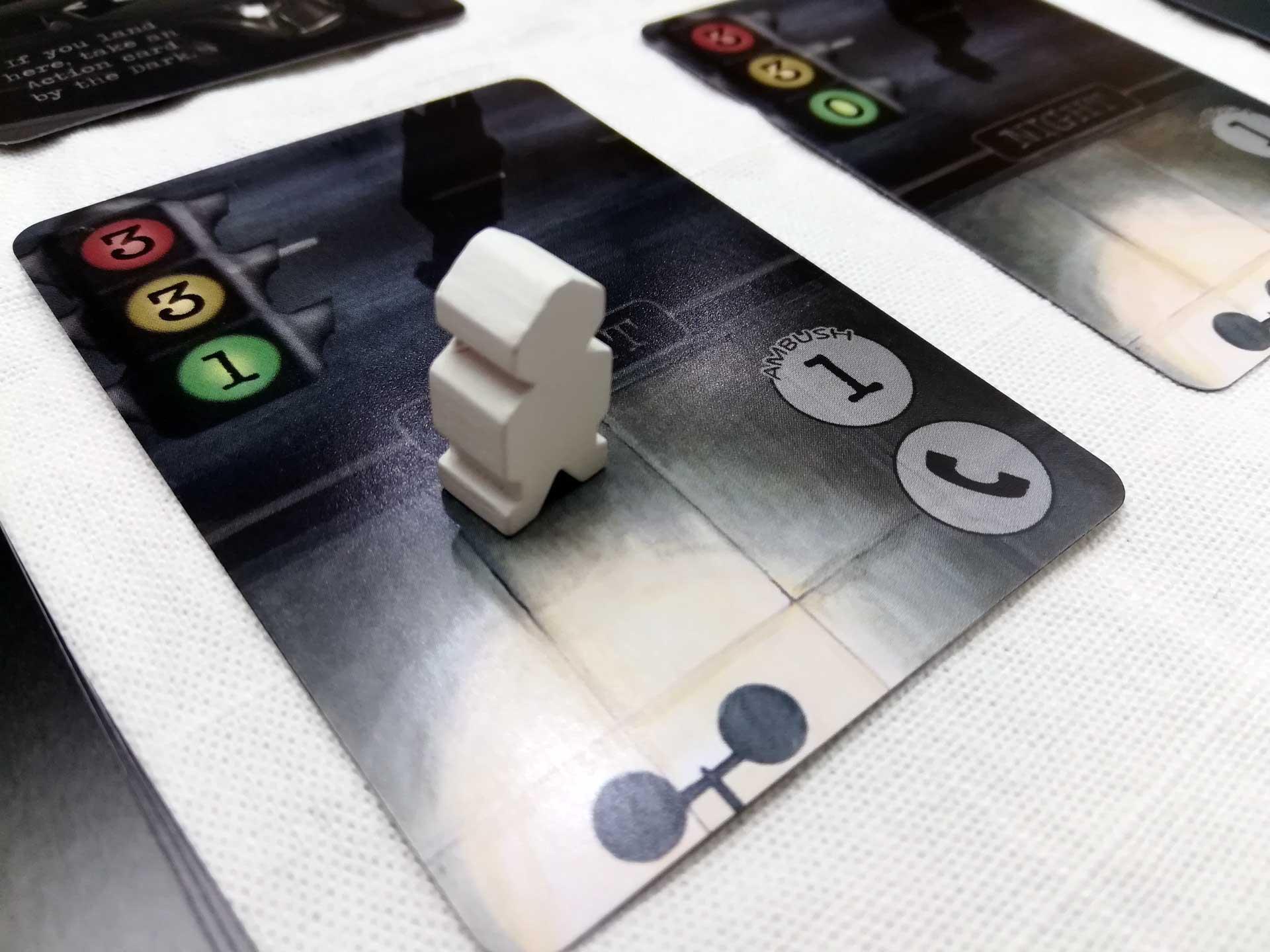 Mantis Falls: Weißer Spieler