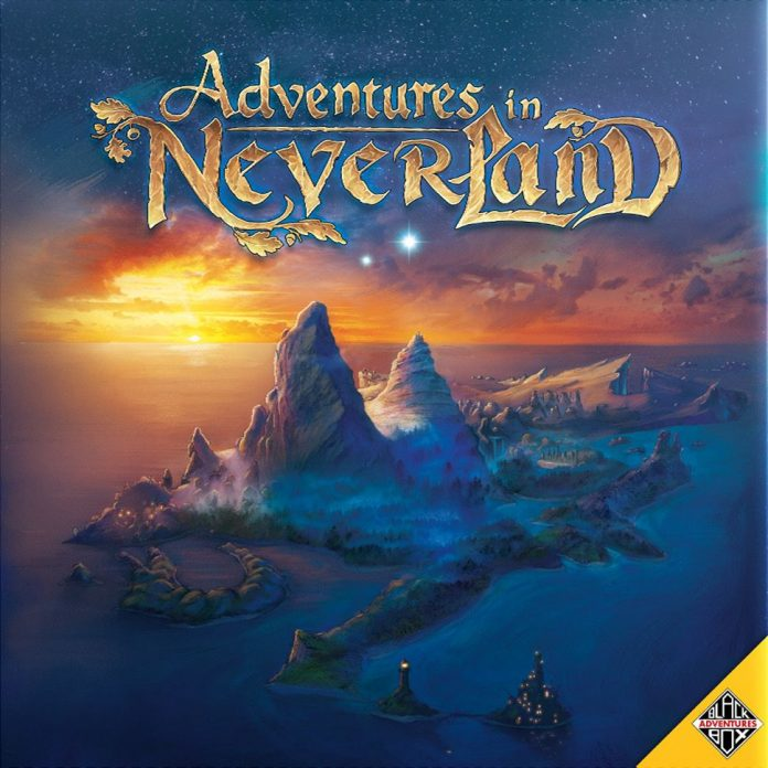 Adventures in Neverland Boxart