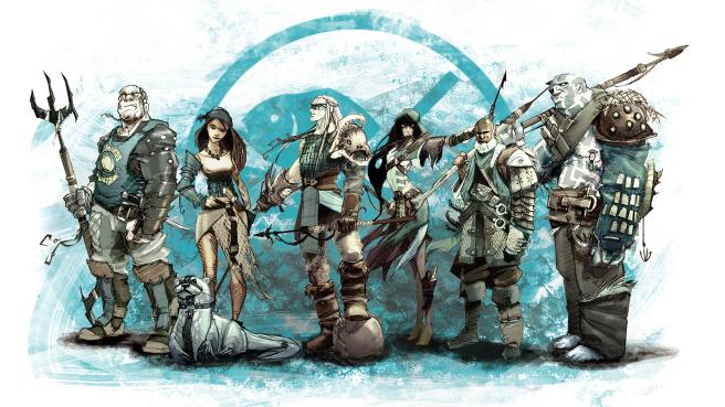 Guild Ball Fischer Team