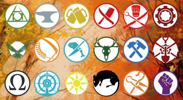 Guild Ball Team Übersicht Icons