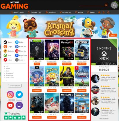 Instant Gaming Verifizierung