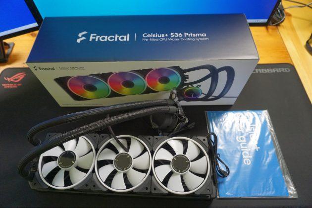 Fractal Design Celsius+ S36 All in One Wasserkühlung