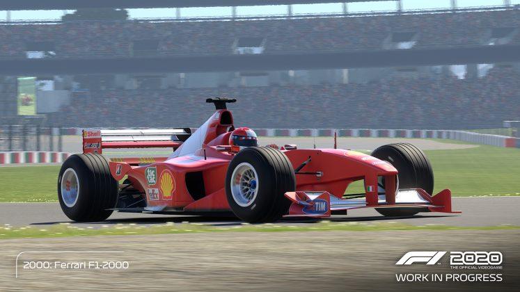 F1 2020 Schumacher Edition Red Car