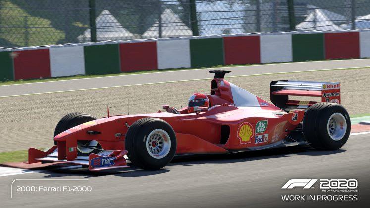 F1 2020 Schumacher Edition Red Car 2