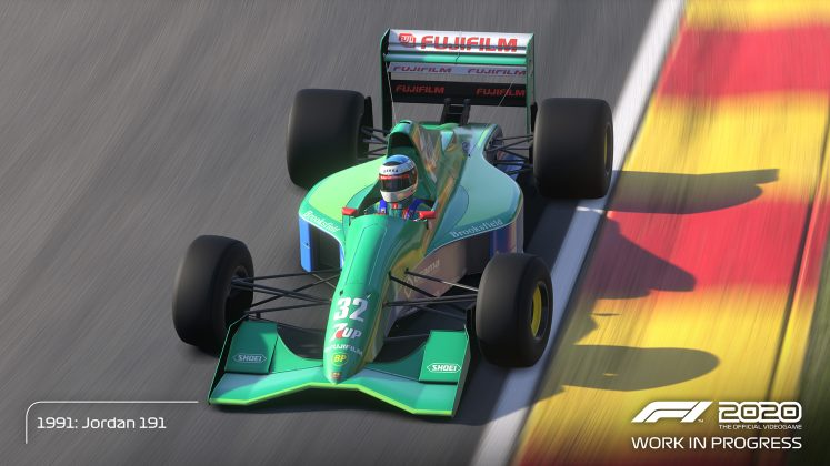 F1 2020 Schumacher Edition Car 6