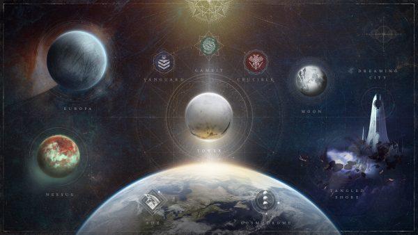 Destiny 2 Inhaltetresor