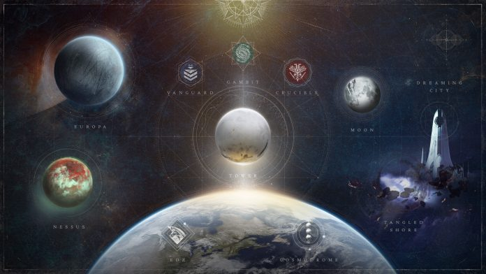 Destiny Inhaltetresor