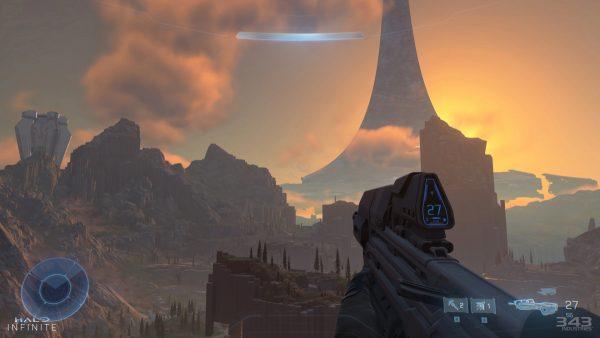 Halo Infinite Gameplay Scene