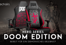 DOOM Edition Noblechairs Gaming Stuhl