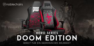 DOOM Edition Noblechairs Gaming Stuhl