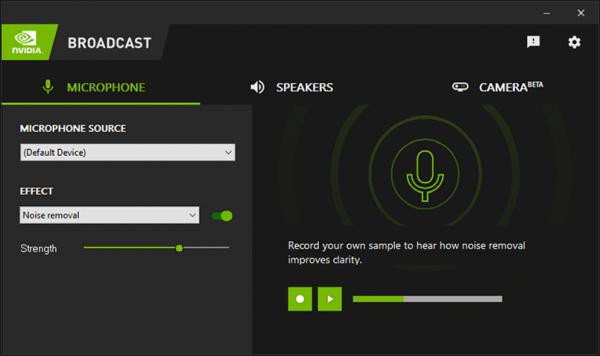 GeForce Broadcast Software
