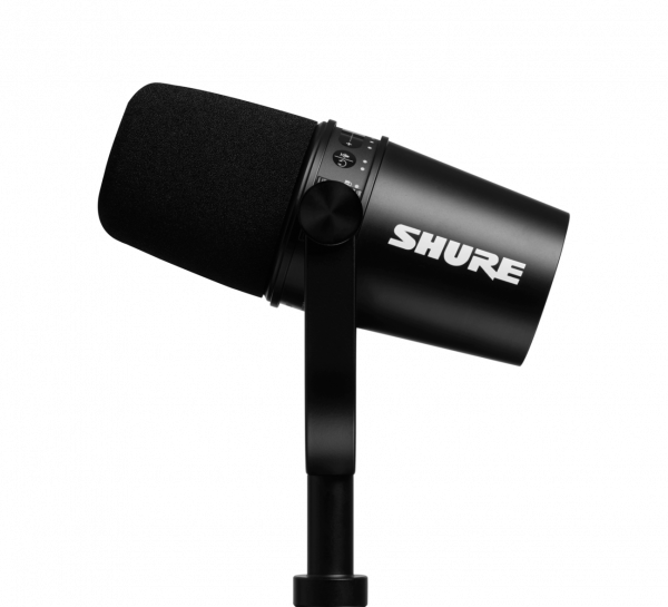 Shure MV7 Mikrofon Schwarz