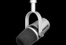 Shure MV7 Mikrofon Silber