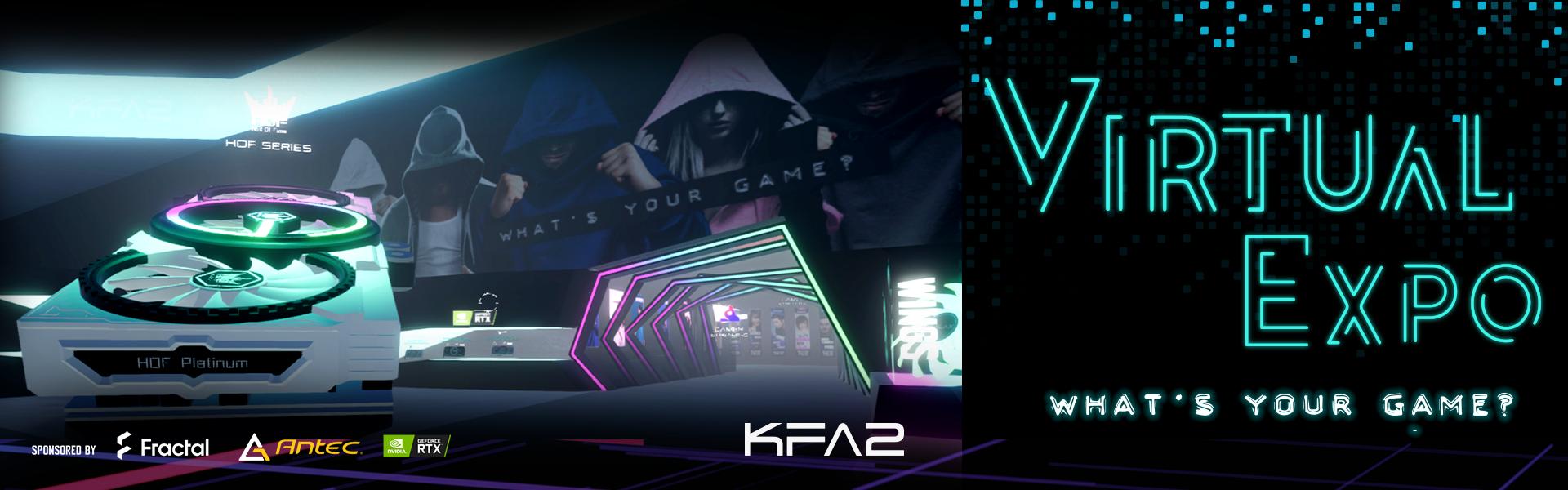 KFA2 Virtual Expo 2020 Banner