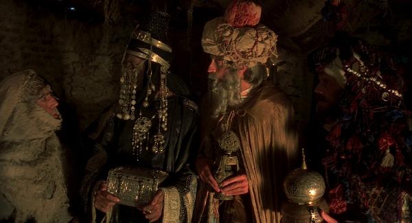 Die heiligen drei Könige im falsche Haus Quelle: Blu-ray