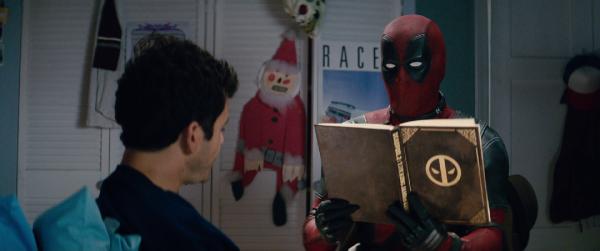 Deadpool erzählt Fred seine Geschichte Quelle: VoD