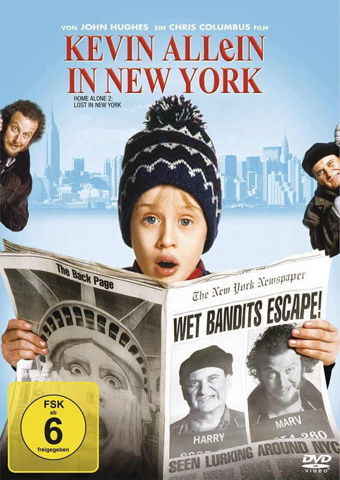 Kevin - Allein in New York BR-Cover