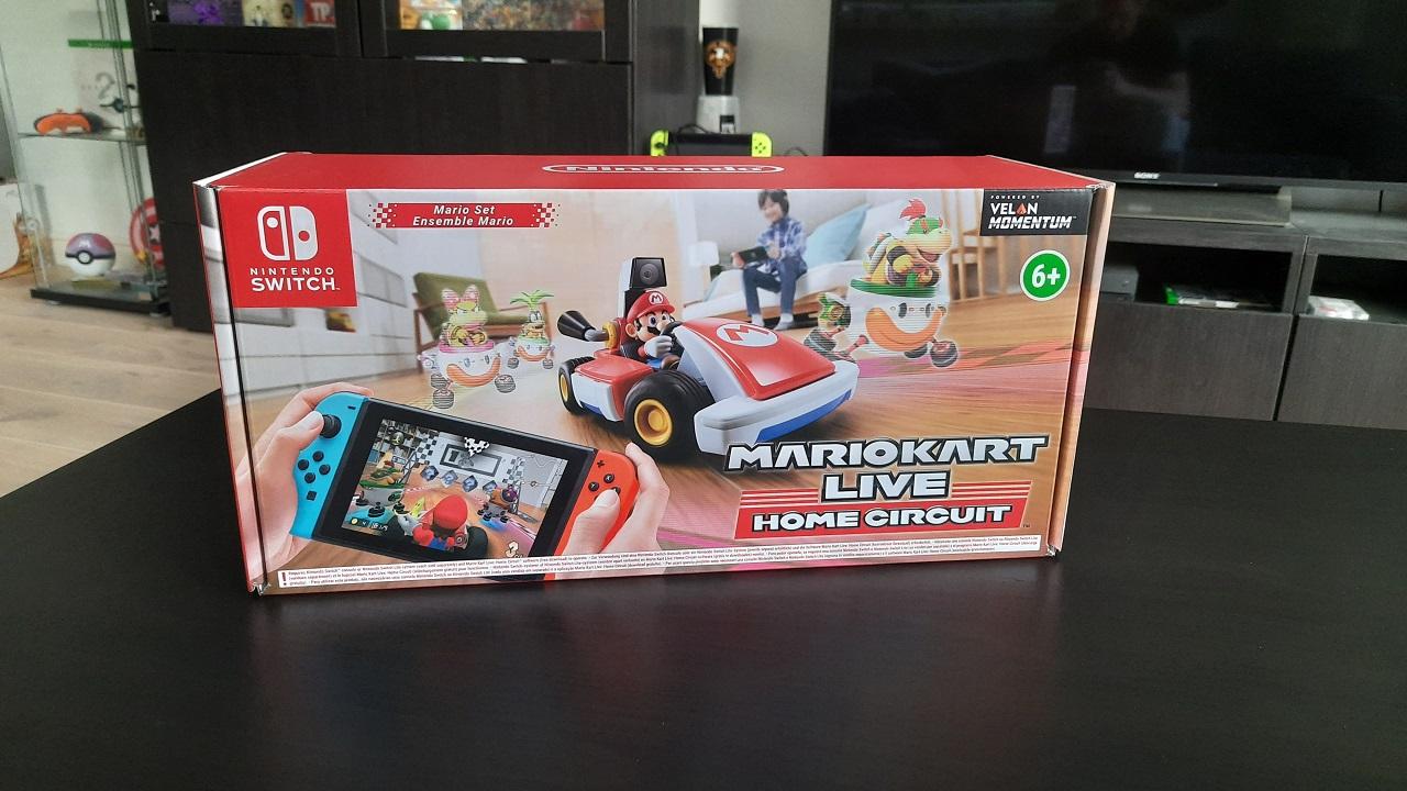 Mario Kart Live Home Circuit Karton