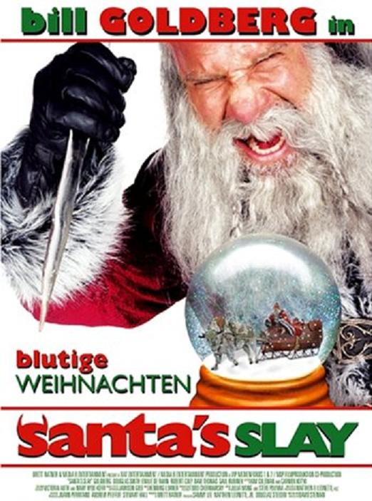 Santa's Slay - DVD Cover