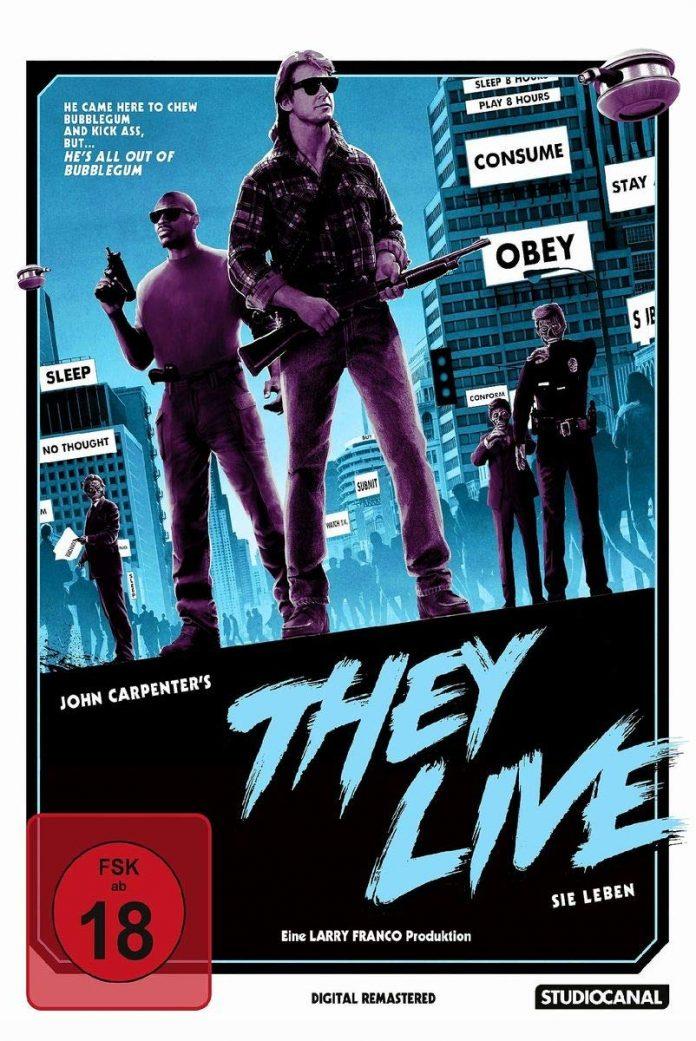 Sie leben Blu-ray Cover